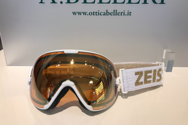 Goggle white ML Gold