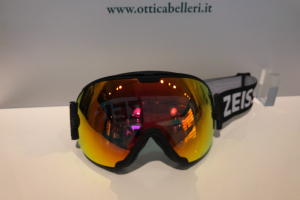 Goggle Black ML Red