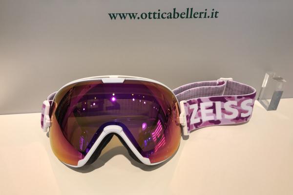 Goggle White ML Pink