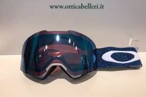 Goggle Fall Line galaxy blue laser
