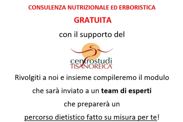 Consulenza nutrizionale ed erboristica