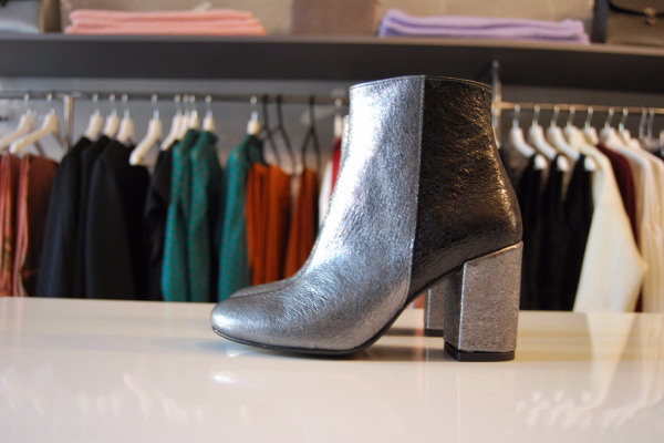 Bicolor Ankle Boots