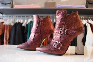 Bordeaux Ankle boots