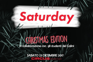 Saturday Night.. un assaggio al Natale
