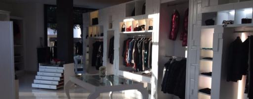 LIDIA CARDINALE, showroom di Brescia