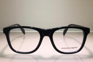 Occhiale da vista in acetato di colore nero AM 00760